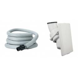 : фото H2 комплект (пневморозетка + белая шланг 12 м. с чехлом)