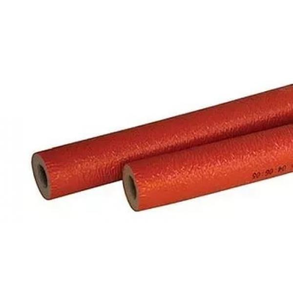 Теплоизоляция ЭНЕРГОФЛЕКС СУПЕР ПРОТЕКТ 18x6 (2 м) красный фото 1