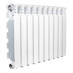 : фото Радиатор алюминиевый FONDITAL EXCLUSIVO B4 350/100, 10 секций