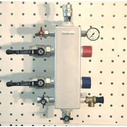 : фото Гидрострелка Gidruss GR-100-32, 09Г2С, монтажный комплект K.TGR