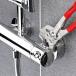 Клещи переставные-гаечный ключ, хромированные 250 mm (с защитой от падения) фото 4