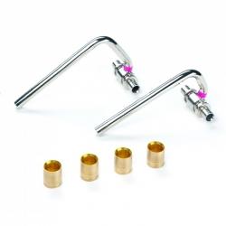 : фото SL-комплект двух C-обр. трубок с гильзами 16-12x1.0-16 для подкл. радиаторов