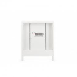 : фото Шкаф коллекторный, приставной, тип AP 130/1005, белый