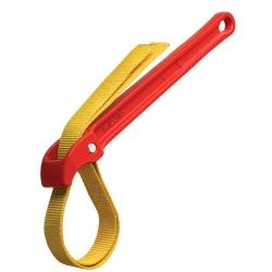 ": фото Алюминиевый ремешковый ключ №2 для пластика, 3 1/2"" Ridgid"