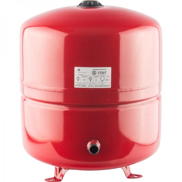 Расширительный бак для отопления (STOUT) Varem, 100 л, с дифрагмой, на опорах фото 1
