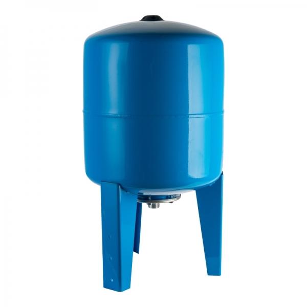 Гидроаккумулятор для водоснабжения (STOUT) Varem, 750 л, вертикальный, синий, сменная мембрана фото 1