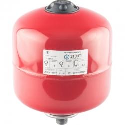 : фото Расширительный бак для отопления (Stout) Varem, 5 л, с дифрагмой