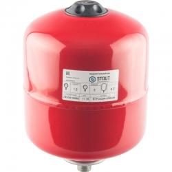 : фото Расширительный бак для отопления (Stout) Varem, 8 л, с дифрагмой