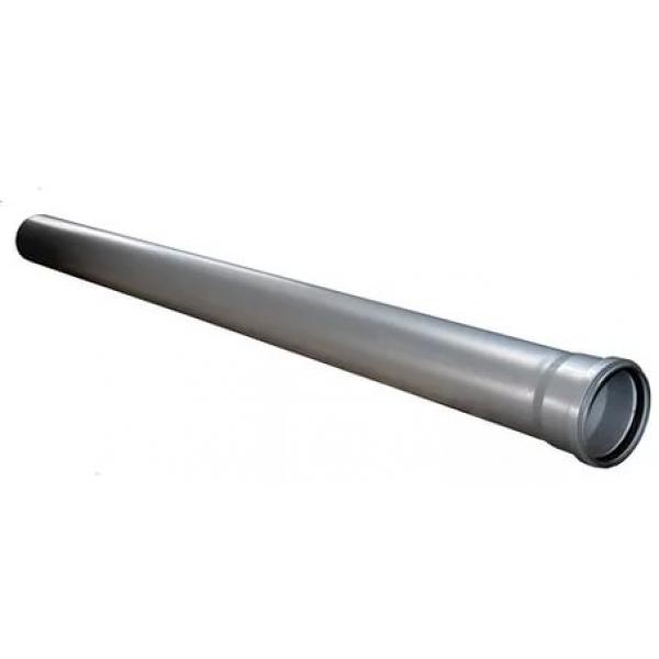 Труба канализационная серая 110x750 SINIKON фото 1