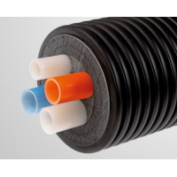 Трубопровод КВАДРО, отопление/ГВС (без сердечника), 140/2x25х2.3; 25х3.5; 20х2.8 мм