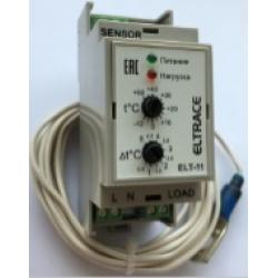 : фото Внутренний термостат с выносным датчиком температуры трубы