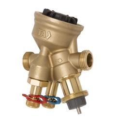 : фото Комбинированный балансировочный регулирующий клапан TA-COMPACT-P, DN10, НР, AMETAL