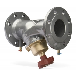 : фото Балансировочный клапан STAF, DN100, фланец, PN16, серый чугун