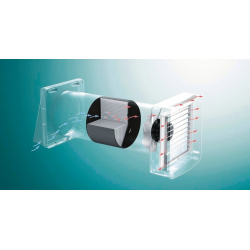 : фото Пакет базовый: Вентиляционное устройство с регенерацией тепла recoVAIR VAR 60/1 D (с пультом ДУ)