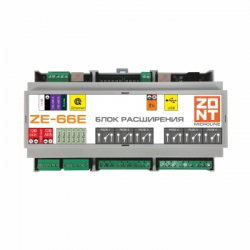 : фото ZONT ZE-66E Блок расширения для контроллеров H2000+ и C2000+ с Ethernet