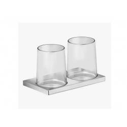: фото Двойной держатель стакана Keuco Edition 11 11151019000