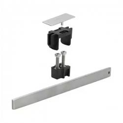: фото Комплект для монтажа укороченной дизайн-вставки для душевого лотка AdvantixVario SR1-200, нержавеющая сталь, мод. 4965.60 Viega