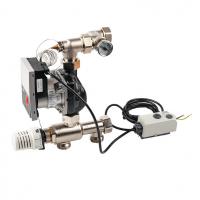 """Насосно смесительный модуль Watts ISOMIX-F для коллекторов из нержавеющей стали, с термоголовкой, 1"""", 14 квт"""