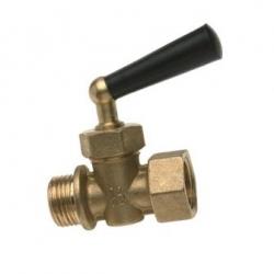 ": фото Запорный кран для манометра Watts RM 15-MM 1/2"" ВР"