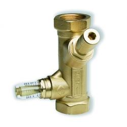 """: фото Балансировочный вентиль SRV IG25 WATTFLOW с расходомером, 1"""" ВР, DN25"""