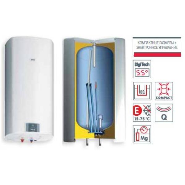Электрический накопительный водонагреватель GORENJE OGB50SEDDB6 фото 1
