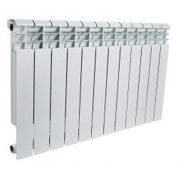 : фото Радиатор алюминиевый Rommer 12 секций OPTIMA Al 500-12