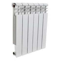 : фото Радиатор алюминиевый Rommer 6 секций PROFI AL350-80-80-6