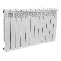 Радиатор биметаллический Rommer 12 секций OPTIMA Bm 500-12