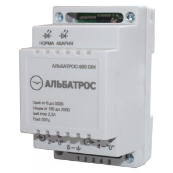 Стабилизатор напряжения АЛЬБАТРОС-500 DIN Teplocom фото 1