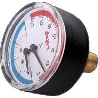 """Термоманометр осевое подключение 1/2"""" ITAP ART 485"""