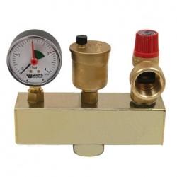 : фото Группа безопасности котла Watts KSG 30 (до 50 кВт) без теплоизоляции